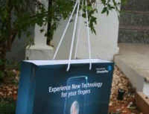 Bolsas de papel baratas de lujo impresas con logo