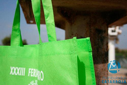 bolsas de tela tst verdes