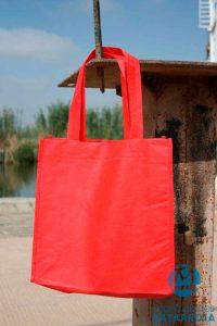 bolsas de tela tst rojas