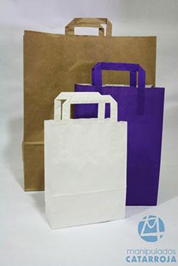 bolsas de papel baratas personalizables