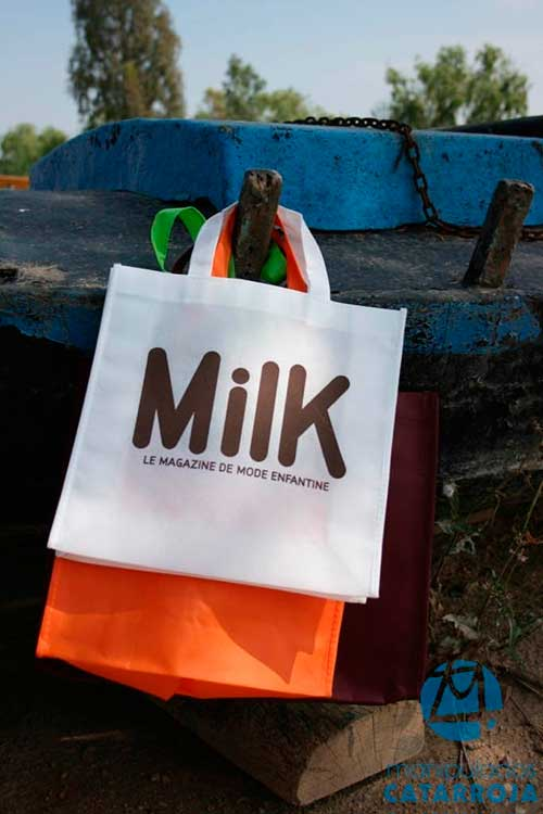 Bolsas de Tela Baratas Milk
