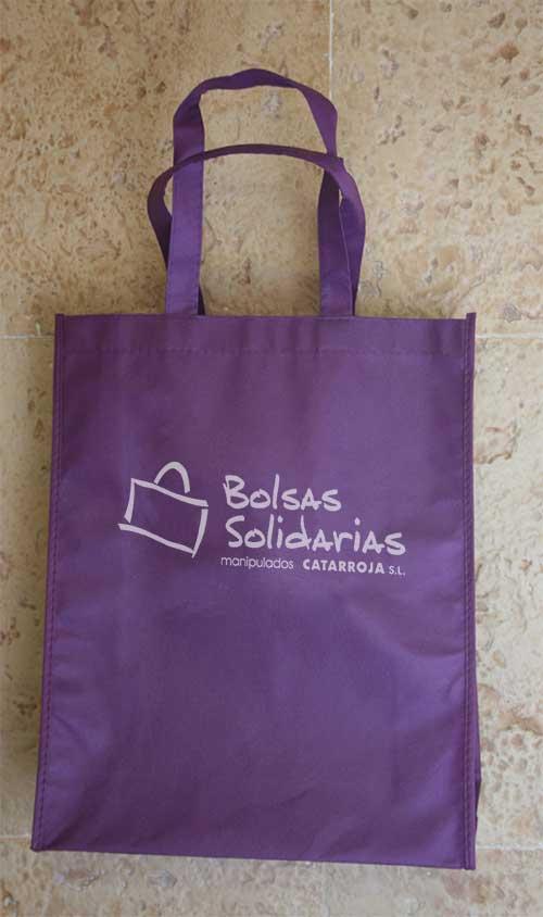 Bolsa Tela Plegable Solidaria
