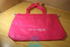 bolsas de tela rosas