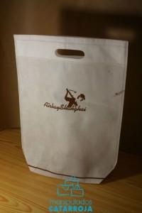 bolsas de papel con asa troquel