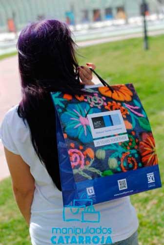 bolsas de papel baratas publicidad