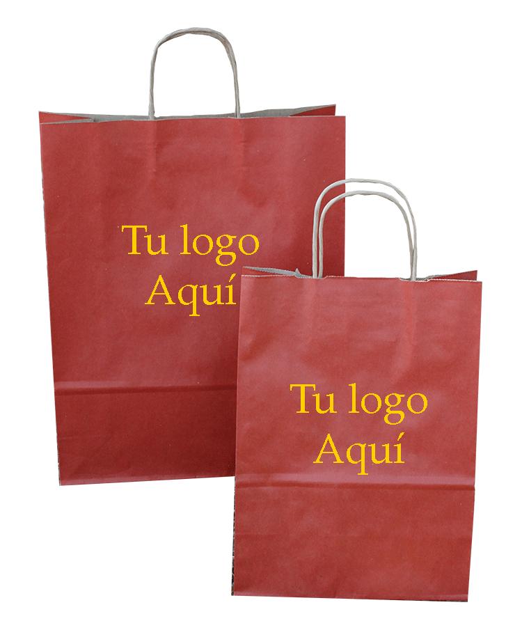 Bolsa de Asa Rizada Rojo Inglés
