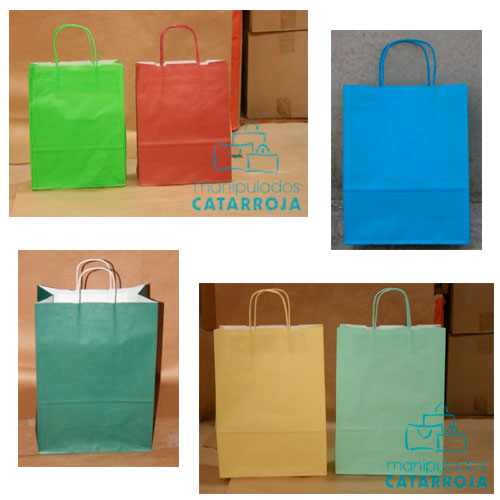 Bolsas de Papel Impresas Color
