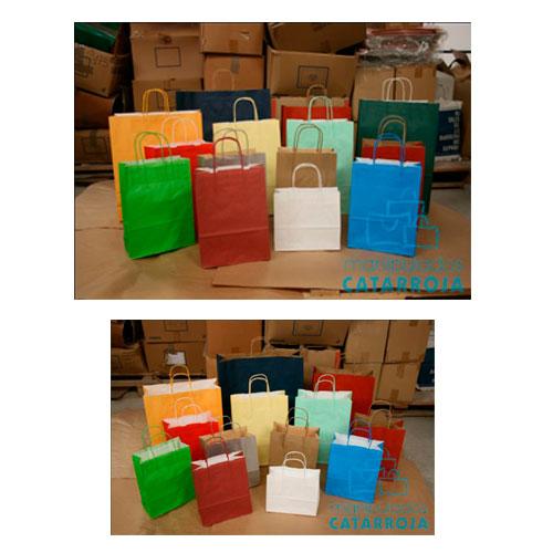 Bolsas de Papel Impresas Colores
