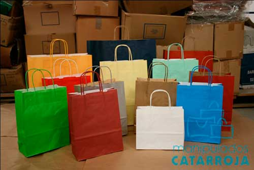 bolsas baratas impresas colores