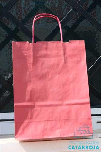 bolsa impresa barata rosa
