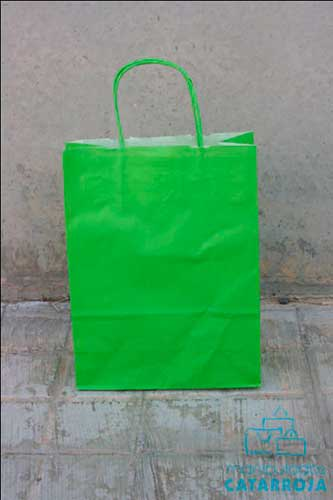 bolsa impresa barata verde