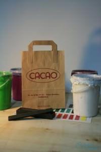Bolsas y papel Cacao