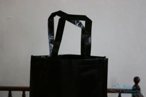 Bolsas para comercio baratas asa plastificada