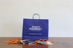 Bolsas para comercio baratas color azul klein