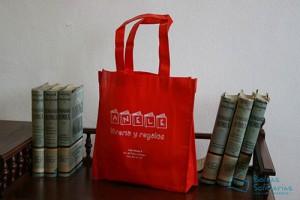 Bolsas para comercio baratas de tela