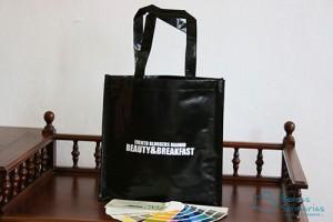 Bolsas para comercio baratas plastificadas e impresas