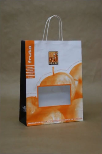 Bolsas de papel baratas fruta