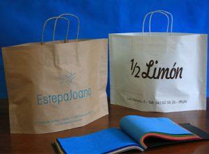 new bags de asa rizada