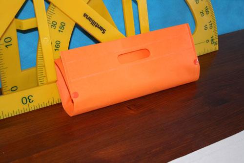 Bolsas de Tela Baratas naranja