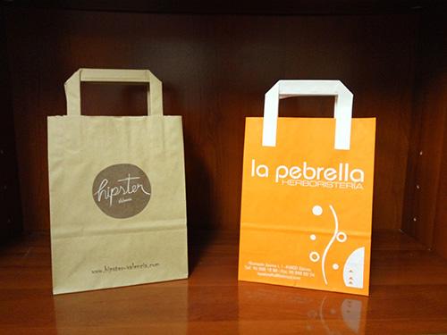 bolsas para tiendas baratas personalizadas
