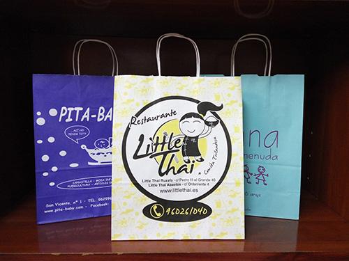 bolsas para tiendas baratas con tu logo