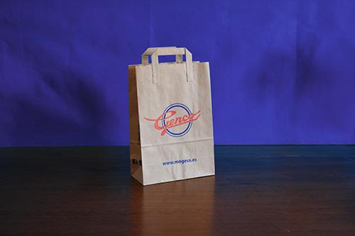 bolsas baratas de papel en barcelona personalizadas