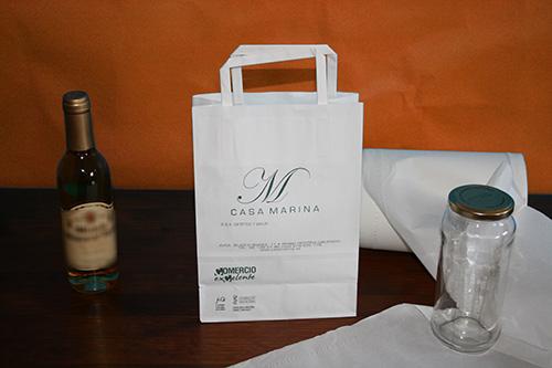 bolsas baratas de papel en barcelona con tu logo