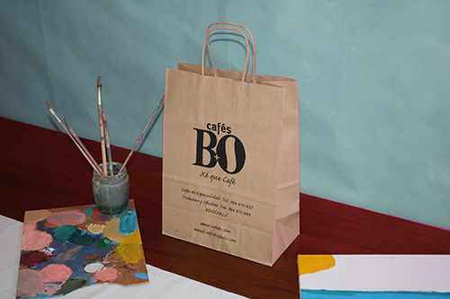 bolsas baratas de papel en barcelona color kraft