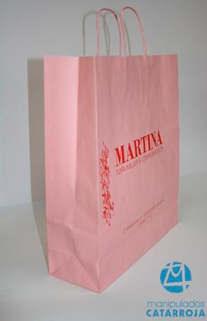 bolsas de papel baratas en madrid personalizadas