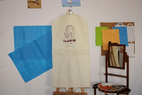 bolsas de tela baratas en barcelona para trajes