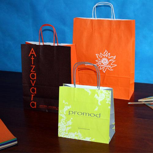 comprar bolsas de papel baratas de distintos tamaños