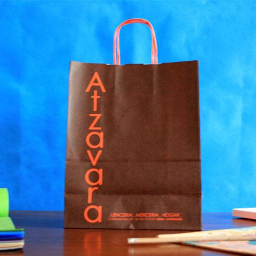 comprar bolsas de papel baratas de asa rizada