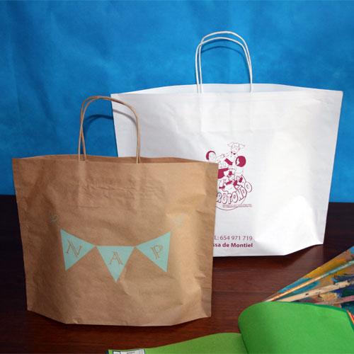 comprar bolsas de papel baratas en madrid