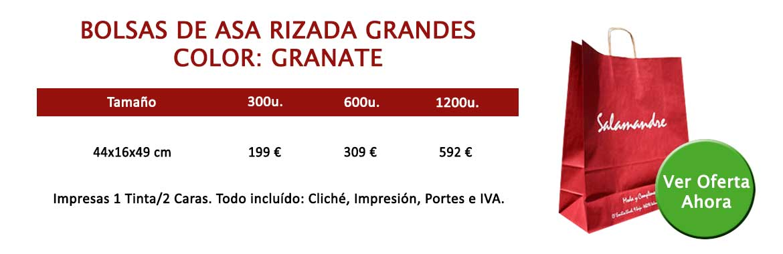 BOLSAS DE ASA RIZADA GRANDES