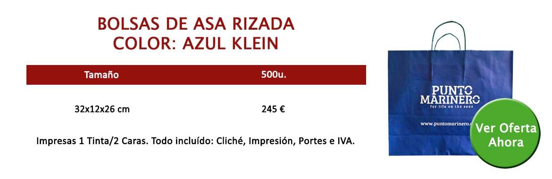 BOLSAS ASA RIZADA