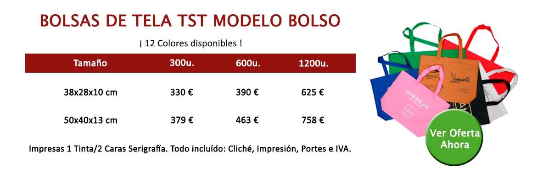 BOLSAS DE TELA TST MODELO BOLSO