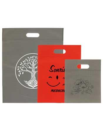 bolsas de tela + asa troquel